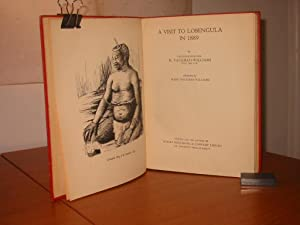 A VISIT TO LOBENGULA IN 1889: Vaughan-Williams, H.