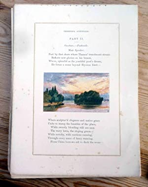 THE POEMS OF OLIVER GOLDSMITH: Willmott, Robert Aris (Editor)