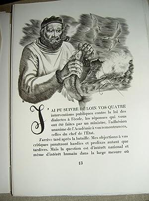 Jarres de Biot. Lettres à mon ancien: MAURRAS (Charles)