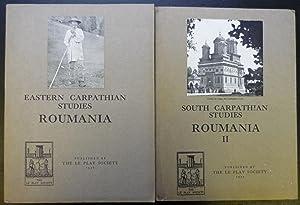 Roumania + Roumania II (2 volumes): Fleure,Prof H J & Pelham, R A (editors)