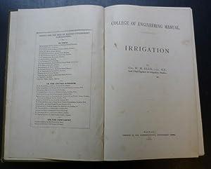 Irrigation: Ellis, Col. W.M.
