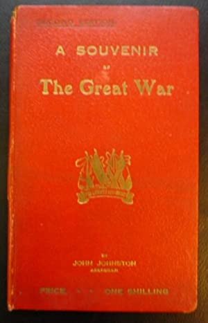 A Souvenir of the Great War: Johnston, Jiohn