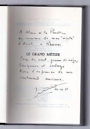 Le Grand Métier - Journal d'un Capitaine de Pêche de Fécamp: RECHER, Jean