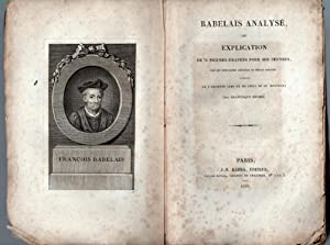 Rabelais analysé ou explication de 76 figures: MICHEL, Francisque