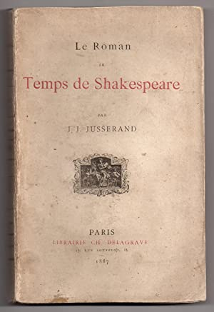 Le Roman au Temps de Shakespeare
