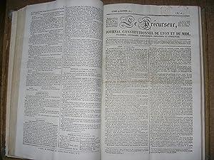 Le Précurseur Journal de Lyon et du Midi : 182 numéros ( du 1er décembre 1826 au 30 juin 1827 ) ...