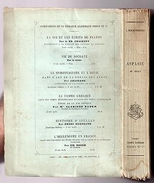 Aspasie de Milet : Etude historique et morale: BECQ DE FOUQUIERES, Louis
