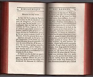 Bibliothèque Universelle des Romans : Juillet 1777 (1 & 2): PAULMY Marquis de & TRESSAN ...