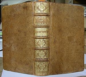 Les Oeuvres de Platon traduites en françois avec des Remarques : Seconde édition corrigée & ...
