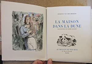 La Maison dans la Dune : Illustrations de Pierre Leconte: VAN DER MEERSCH, Maxence