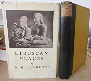 TWO FIRST EDITIONS : Etruscan Places (1932 with dj) + Birds Beasts and Flowers (1923)