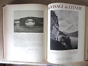 Le Visage de l'Italie : Préface de Benito Mussolini [Complet des 6 parties reliées en un volume...