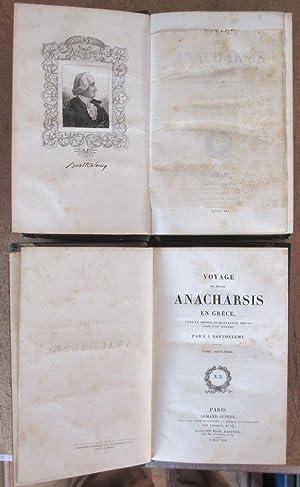 Voyage du Jeune Anacharsis en Grèce vers le milieu du quatrième siècle avant l'ère vulgaire [ ...
