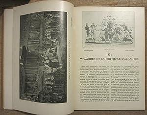 1830 - Mémoires de la Duchesse d'Abrantès publiés avec une introduction par Louis Loviot: ...