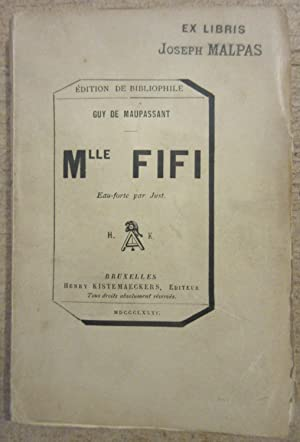 Mlle Fifi - Eau-forte par Just [: MAUPASSANT, Guy de