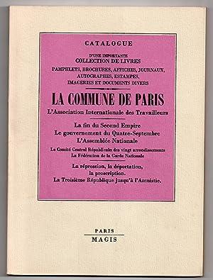 Catalogue n°38 ] : La Commune de: MAGIS, Jean-Jacques