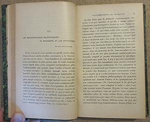 L'Inconnu et les Problèmes Psychiques : manifestations de mourants - apparitions - télépathie -...