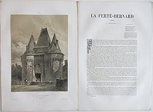 Le Maine et l'Anjou Historiques Archéologiques et Pittoresques : Recueil des Sites et des ...