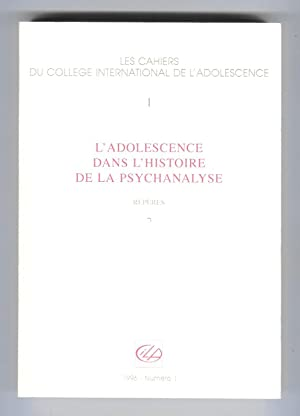 L'adolescence dans la psychanalyse : Repères: MARTY, François (dir.)