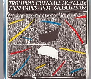 Troisième Triennale Mondiale d'Estampes Petit Format. 1994. Chamalières: ASSOCIATION DU MUSEE D...