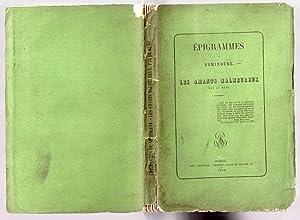 Epigrammes de Nomingène - Les amants malheureux par le même: NOMINGENE [pseud. de Philippe d'...