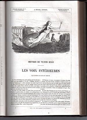 Oeuvres de Victor Hugo : Les Orientales - illustrées par Gérard Seguin + Les Voix Intérieures &...