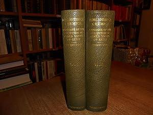 BIBLIOTHECA CHEMICA. A CATALOGUE OF THE ALCHEMICAL,: FERGUSON, JOHN