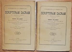 SUPPLEMENTUM AD COMMENTARIA IN SCRIPTURAM SACRAM R.P.: BELLARMINI, Roberti