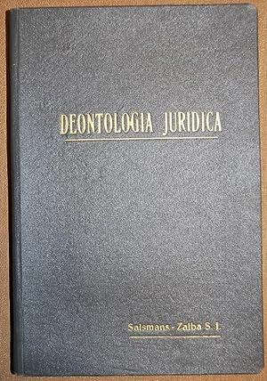 DEONTOLOGIA JURIDICA O MORAL PROFESIONAL DEL ABOGADO. Edición española adaptada de la...