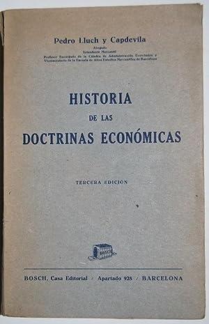 HISTORIA DE LAS DOCTRINAS ECONOMICAS: LLUCH Y CAPDEVILA,