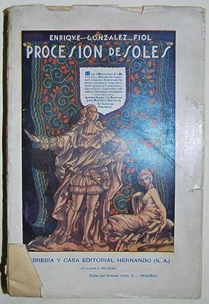 PROCESION DE SOLES. Resplandores y manchas de: GONZALEZ FIOL, Enrique