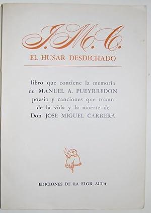 J.M.C. EL HUSAR DESDICHADO. Libro que contiene: NERUDA, Pablo
