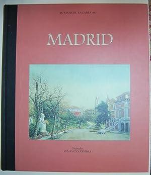 MADRID. Grabados de Venancio Arribas. Edición bilingüe: Español-Inglés: LACARTA, Manuel
