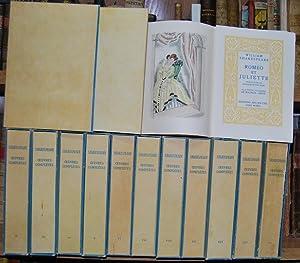 OEUVRES COMPLETES. Vol I: Roméo et Julliette: SHAKESPEARE, William