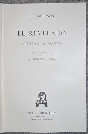 EL REVELADO. La técnica del negativo: JACOBSON, C.I.