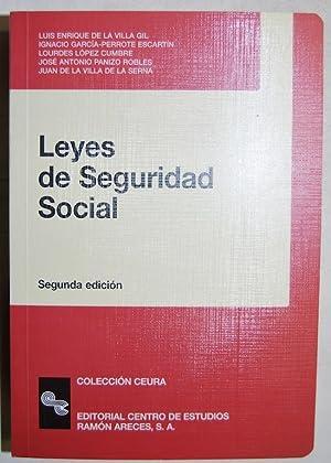 LEYES DE SEGURIDAD SOCIAL: VILLA GIL, Luis
