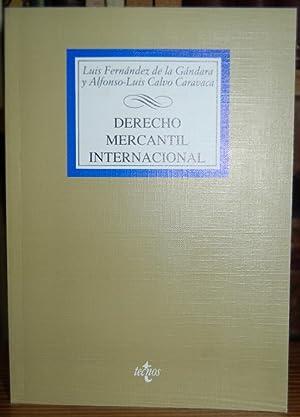 DERECHO MERCANTIL INTERNACIONAL. Estudios sobre derecho comunitario: FERNANDEZ E LA