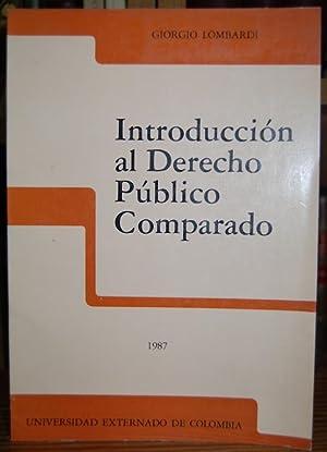 INTRODUCCION AL DERECHO PUBLICO COMPARADO: LOMBARDI, Giorgio