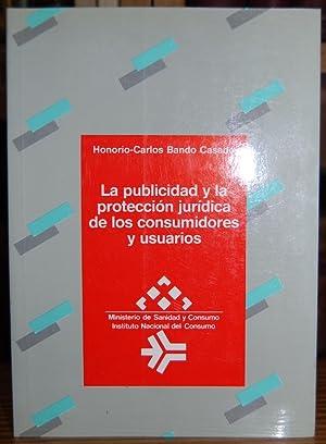 LA PUBLICIDAD Y LA PROTECCION JURIDICA DE: BANDO CASADO, Honorio-Carlos