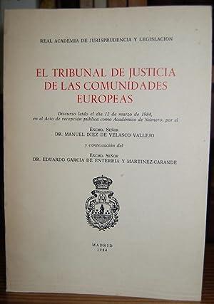 EL TRIBUNAL DE JUSTICIA DE LAS COMUNIDADES: DIEZ DE VELASCO