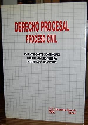 DERECHO PROCESAL. PROCESO CIVIL: CORTES DOMINGUEZ, Valentín