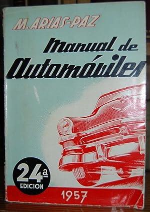 MANUAL DE AUTOMOVILES: ARIAS-PAZ, Manuel