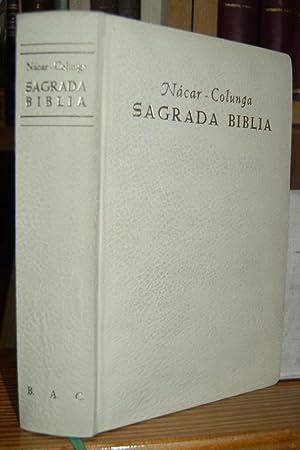 SAGRADA BIBLIA. Versión directa de las lenguas: NACAR FUSTER, Eloíno