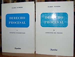 Claria Olmedo Jorge Derecho Procesal Abebooks