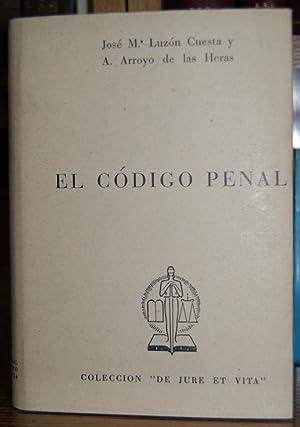 CODIGO PENAL. Texto revisado 1963: ARROYO DE LAS
