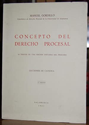 CONCEPTO DEL DERECHO PROCESAL (A través de: GORDILLO, Manuel