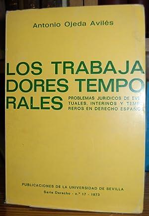LOS TRABAJADORES TEMPORALES. (Problemas jurídicos de eventuales,: OJEDA AVILES, Antonio