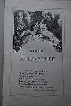 MUSEO EPIGRAMATICO. COLECCIÓN DE LOS MAS FESTIVOS EPIGRAMAS y otras composiciones aná...