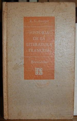 HISTORIA DE LA LITERATURA FRANCESA: ESCARPIT, Robert G.