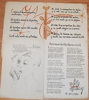 CANCION 37. (Baladas y Canciones del Paraná).: ALBERTI, Rafael